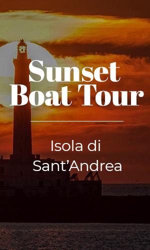 Sunset Boat Tour: Isola di Sant'Andrea